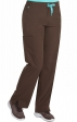 """8719 Med Couture Energy Stretch ONE CARGO POCKET PANT - Regular: (31"""")"""