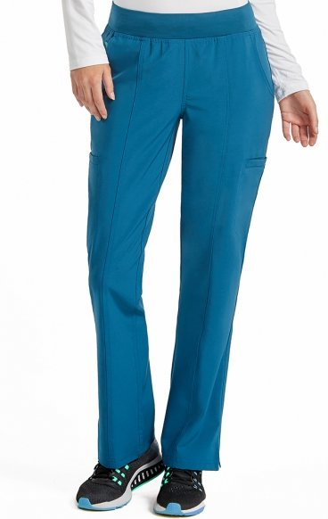 "8744 Med Couture Energy Stretch YOGA TWO CARGO POCKET PANT - Regular: (31"")"