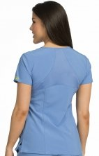 8416 Med Couture Activate 4-way Energy Stretch V-NECKLINE RACERBACK TOP