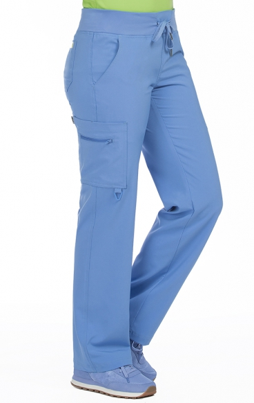 8747T Grand 33po Med Couture Activate Étirement Énergie Pantalon Yoga À Quatre Voies