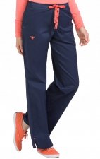 "8705 Med Couture Signature DRAWSTRING PANT - Regular: (31"")"