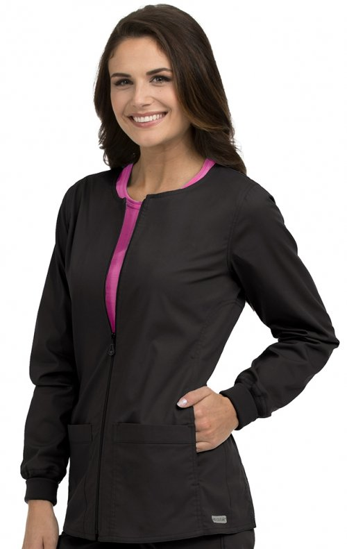 *FINAL SALE 8687 Med Couture Professional Zip Front Warm ...