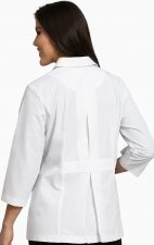 "9618 Peaches Ultra White 28"" Lab Coat"