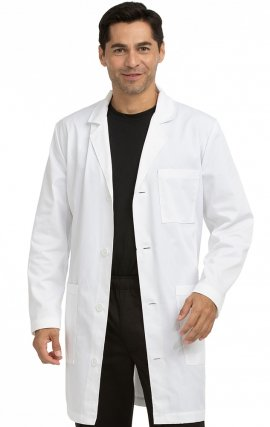 "3048 Med Couture Professional MEN'S CLASSIC REGULAR LENGTH (38"") LAB COAT"