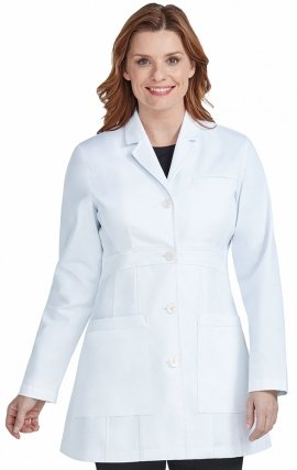 "9632 Med Couture Professional Tailored Length Lab Coat (36"")"