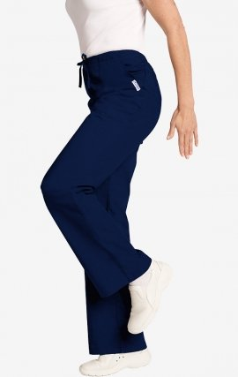 *FINAL SALE 302P NAVY MOBB Bell Bottom Scrub Pant