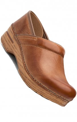 "Sabot professionnel ""Honey Distressed Leather"" par Dansko"