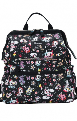 A139 koi Printed Medical Backpack - Unicorno Dreaming