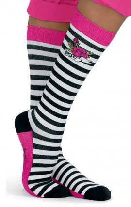 QB155 koi Betsey Compression Socks (1Pk) - Animal