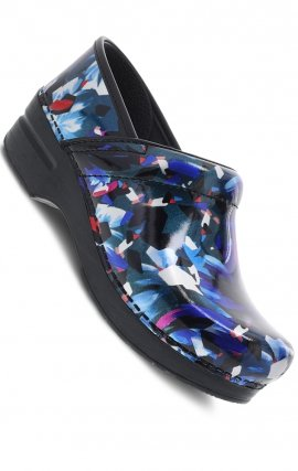 Graphic Floral Clog by Dansko Professional