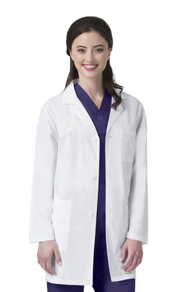 "7106L Unisex Origins Lab Coat - 33 ½"" Long - TALL - Women's View"