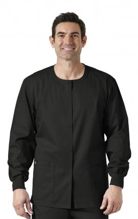 800 WonderWORK Unisex Snap Front Jacket