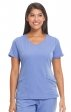 2525 HH Works by Healing Hands Madison Mock Wrap Scrub Top