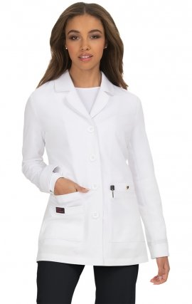 B402 koi Canna Lab Coat Design by Betsey Johnson