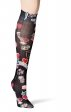 480 WonderWink Collection Print Compression Socks - Wonder Vision