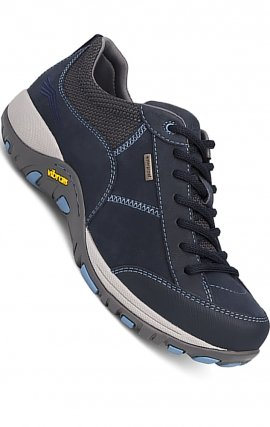 WIDE Paisley Navy Milled Nubuck by Dansko - Slip Resistant Shoes