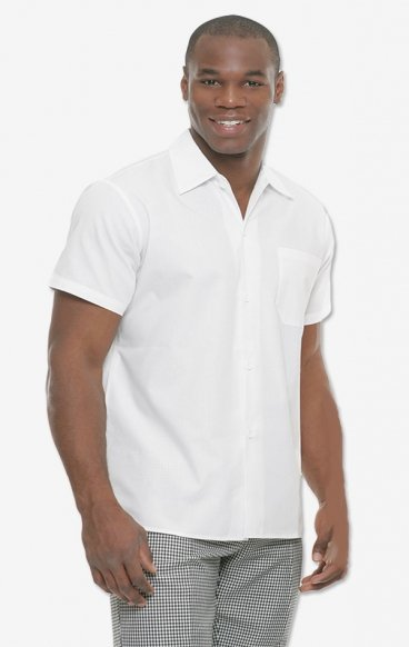 204T MOBB Button Down Professional White Top