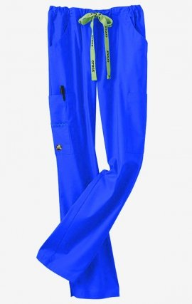 CPW-0202R Royal Blue CROCS Karla Cargo Scrub Pants