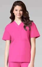 1006 Maevn CORE - Unisex V-Neck Top - Hot Pink