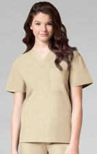 1006 Maevn CORE - Unisex V-Neck Top - Khaki