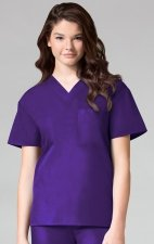 1006 Maevn CORE - Unisex V-Neck Top - Purple