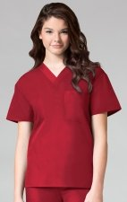 1006 Maevn CORE - Unisex V-Neck Top - Red