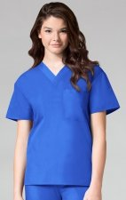 1006 Maevn CORE - Unisex V-Neck Top - Royal Blue