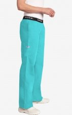 Boot Cut Flip Flap MOBB Scrub Pant - Sea Green (SG)