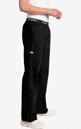 Boot Cut Flip Flap MOBB Scrub Pant - Black (BL)