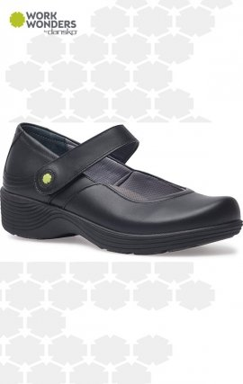 Clover Work Wonders by Dansko™ - Black Leather