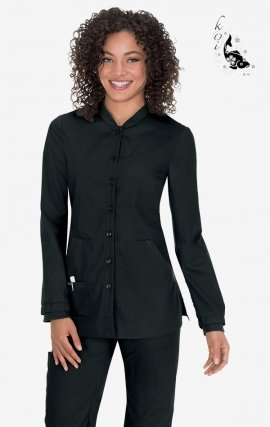 438 Black koi Comfort Callie Jacket - Black