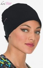 A130 Koi Lite™ Scrubs Black Surgical Hat - Black