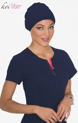A130 Koi Lite™ Scrubs Navy Surgical Hat