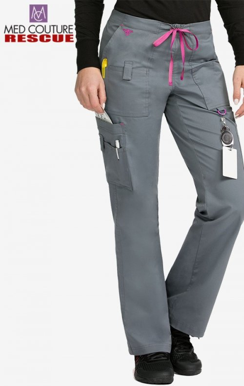 9c6835891bb ... 8761 Med Couture Rescue Utility Cargo Scrub Pant - Steel/Cotton Candy  ...