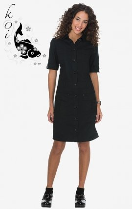 905 Koi Alexandra Dress Black