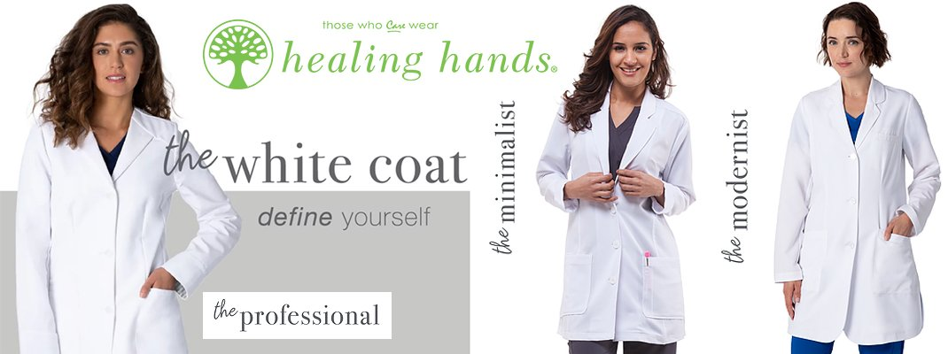 The White Coat | Healing Hands | Canada Lab Coats