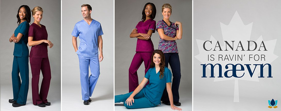 Maevn Medical Uniforms Canada