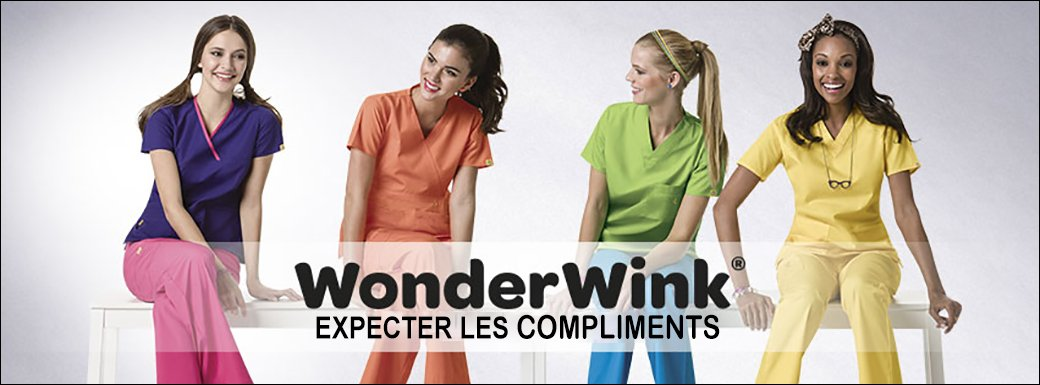 WonderWink EXPECTER LES COMPLIMENTS